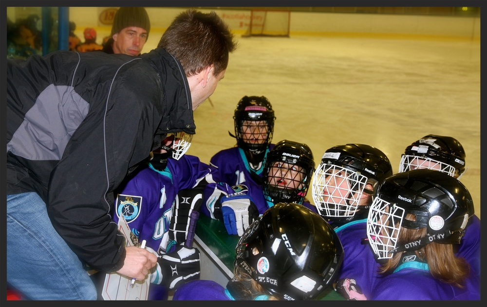 My husband (Coach Dave) has even been known to extoll it's virtues at the risk of being shunned by hockey dads :)