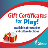 Ottawa Gift Certificate