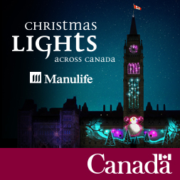 Christmas Lights Across Canada Manulife