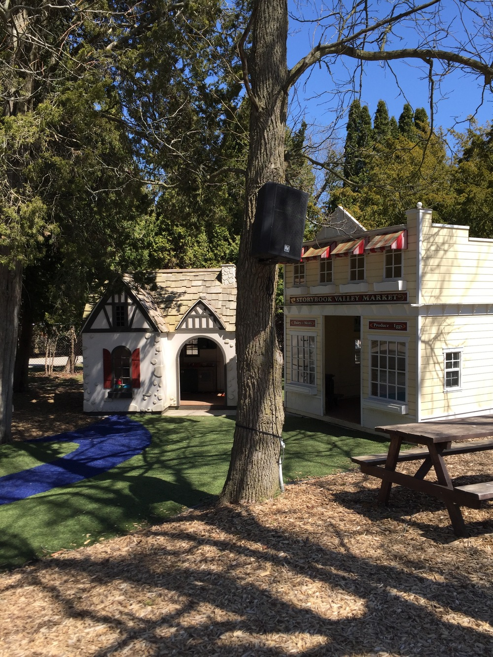 Playhouses at Storybook Gardens