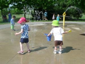 Walter Baker Park Splash Pad