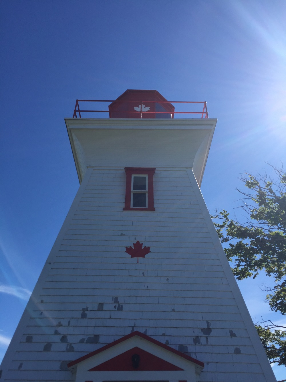 Lighthouse at victoria by-the-sea