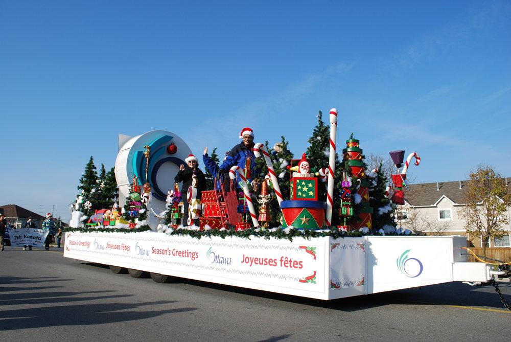 Kanata santa claus parade.JPG