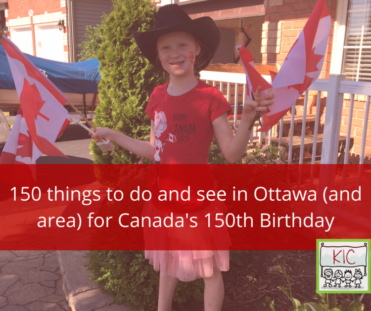 150 Things for Canada 150
