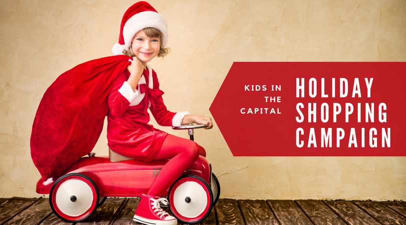 Kids in the Capital Holiday Shopping Campaign 2017