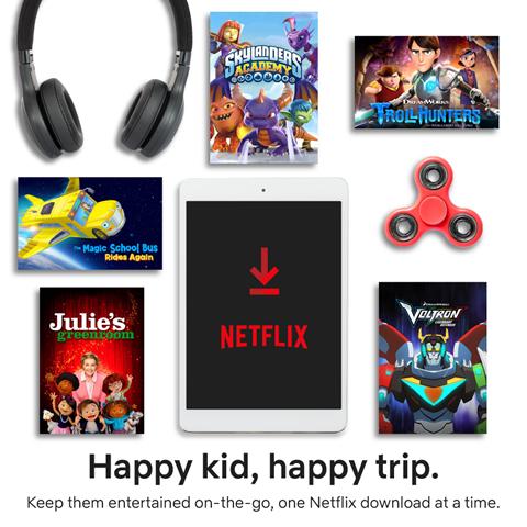Netflix travel essentials
