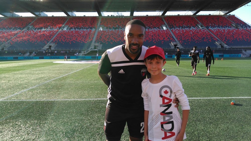 Ottawa Fury Player