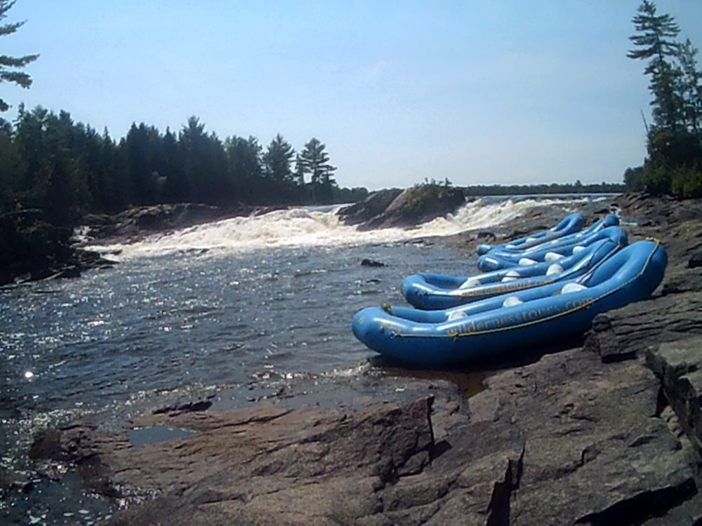 Wilderness Tours rafts