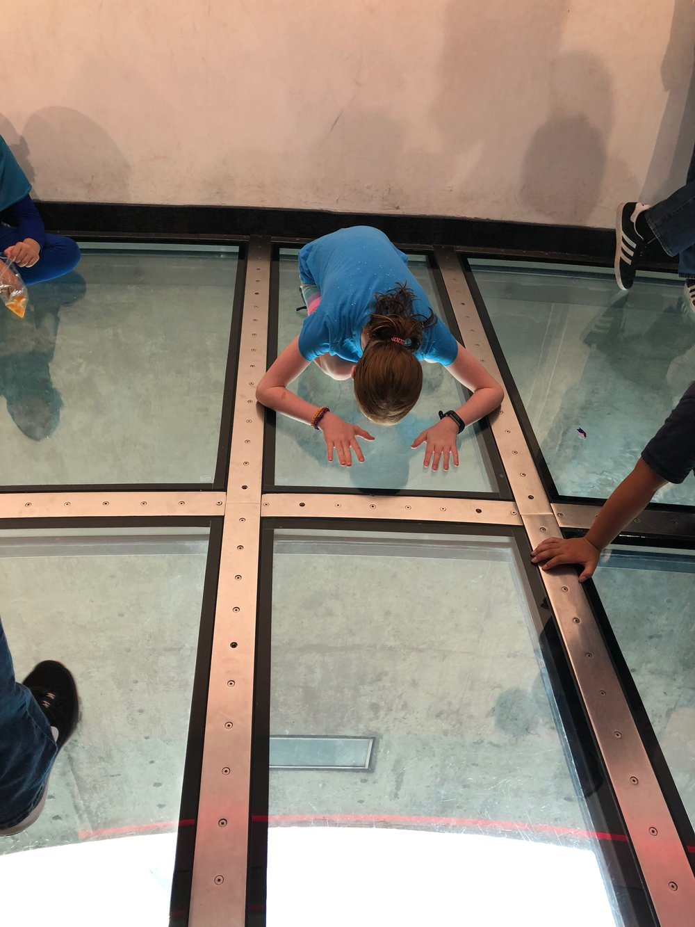 Glass Floor CN Tower Toronto