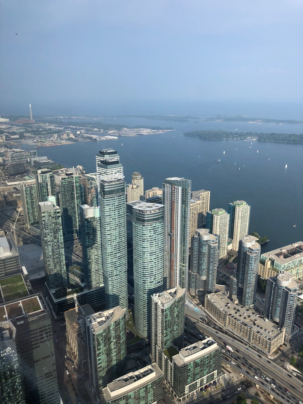 View from the CN Tower Look Out