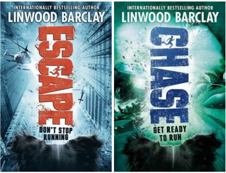 Chase Get Ready to Run and Escape Don't Stop Running  by Linwood Barclay .jpg