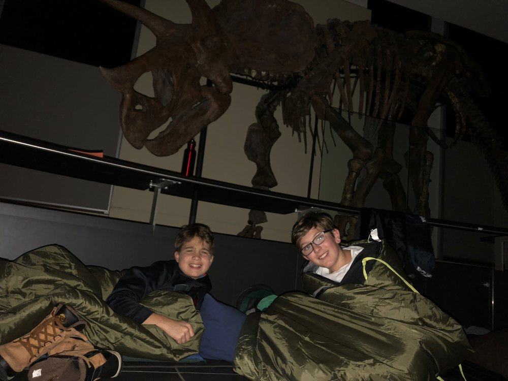 Nature Sleepovers at the Canadian Museum of Nature - Sleeping with Dinosaurs