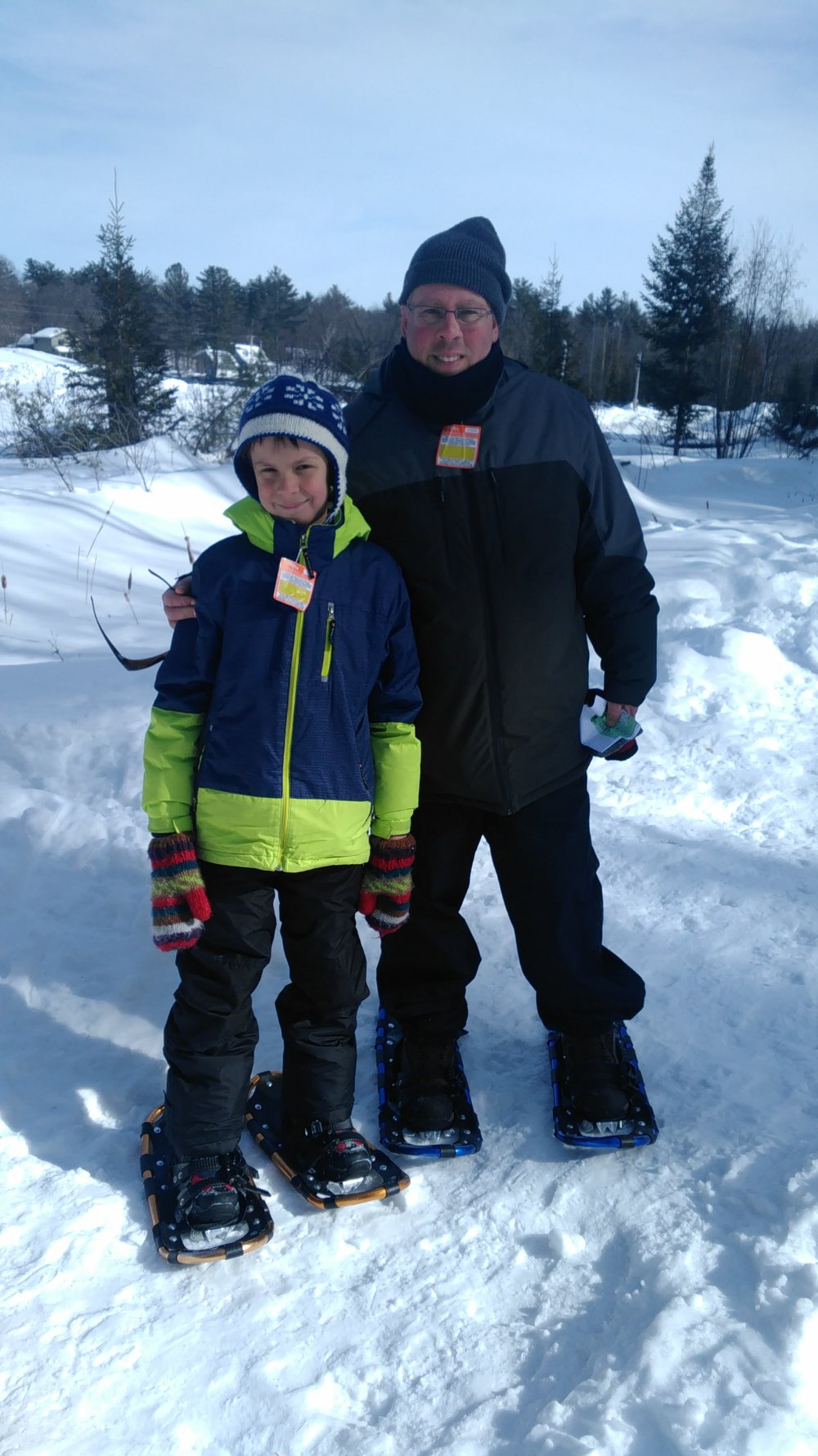 Snowshoeing at Mount Pakenham
