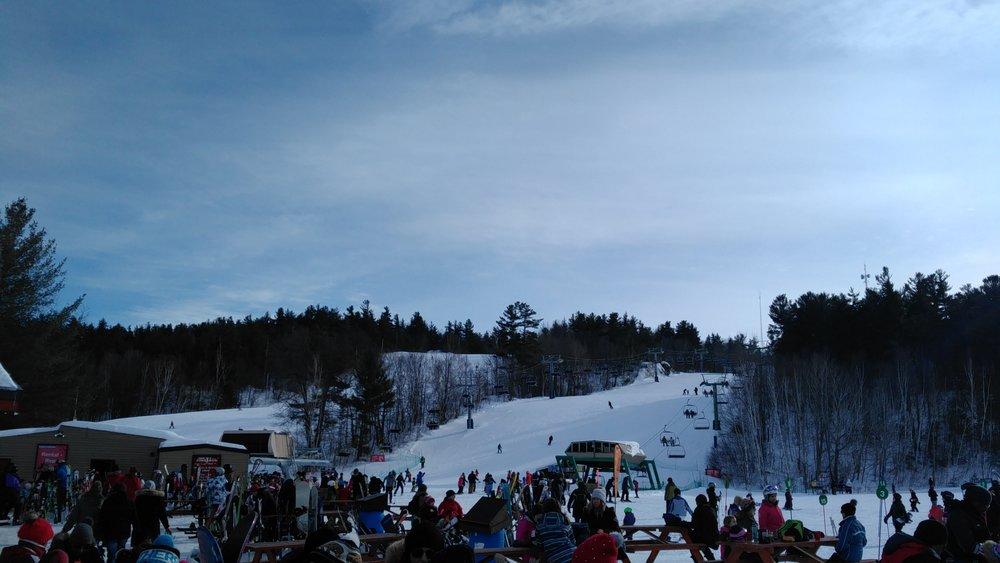 Skiing at Mount Pakenham