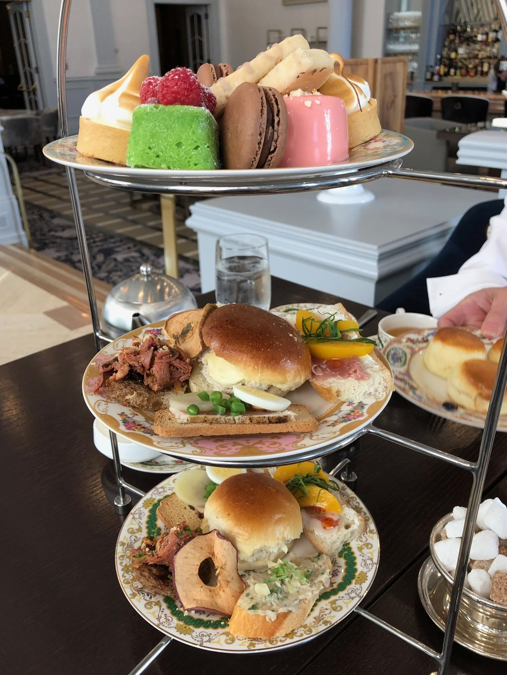 High Tea at the Chateau Laurier