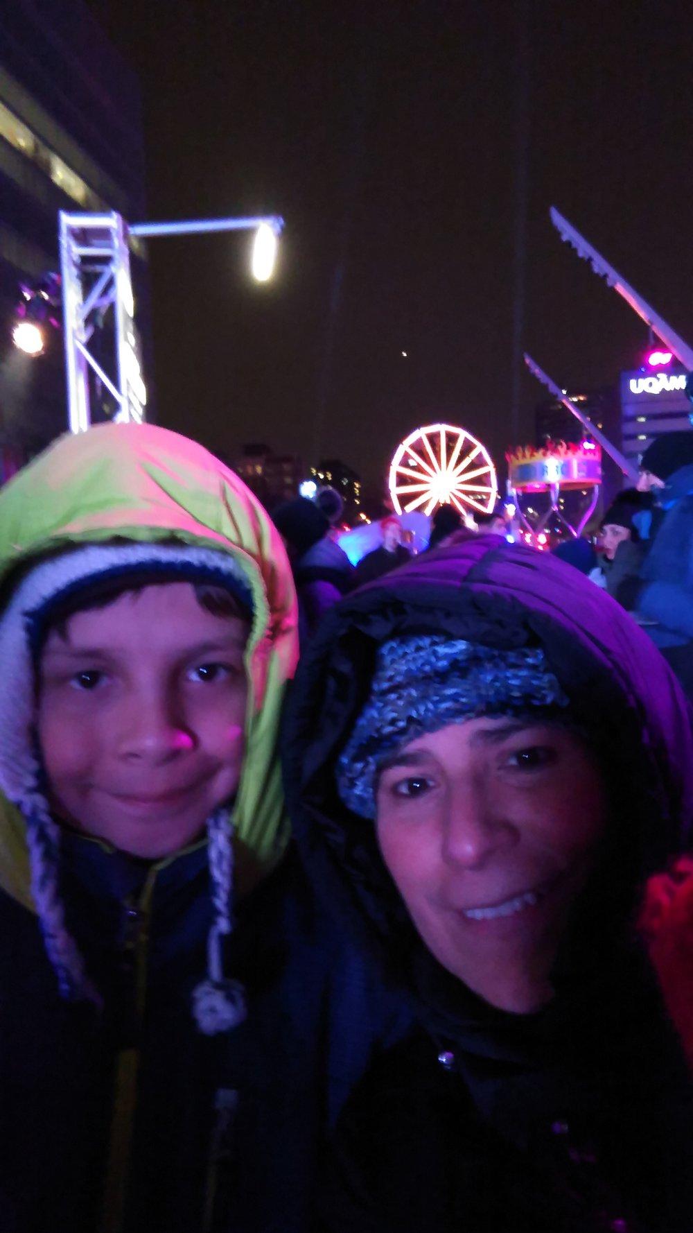 Montreal en Lumiere festival - Nuit Blanche