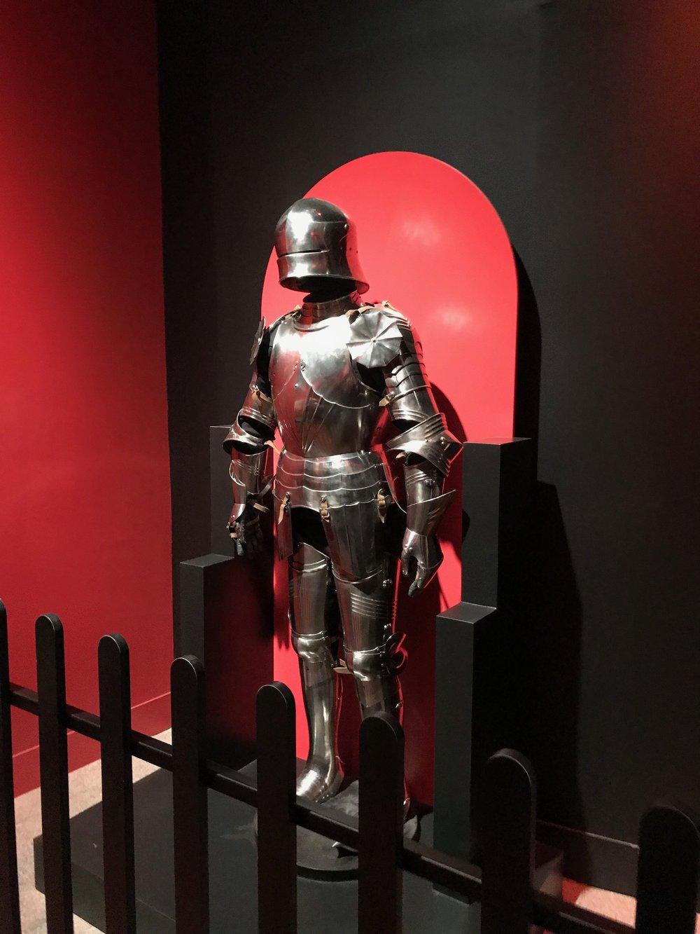 History Museum Medieval Exhibit