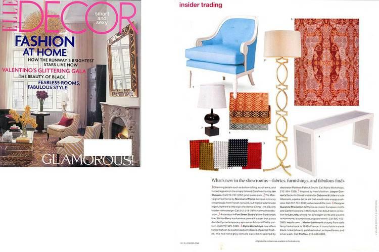 Press — Marian Jamieson Furniture & Lighting