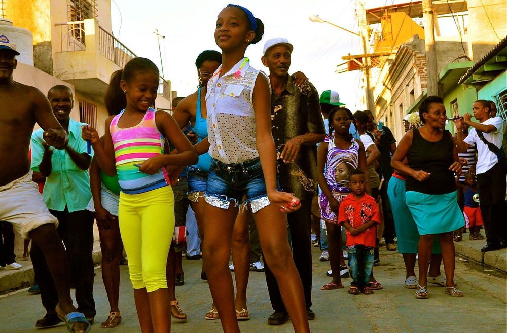 Rumba in Santiago de Cuba, Cuba. Photograph: Heather L. Hodges.