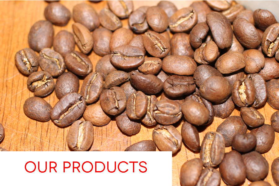 Our coffee is shade grown, organic and solar dried, making it both environmentally-friendly and sustainable