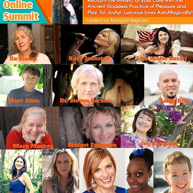 "Excited to be part of this free online event ""Awaken Magic"" hosted by Margarit Brigham.  Discover the strategies of top coaches to awaken your magic in a way that helps the world be a better place and achieve your version of a magical Goddess life!  Check it out at: www.awakenmagic.com (clickable link in bio)"