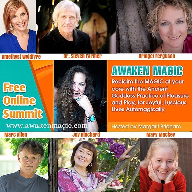 Have you ever struggled with manifesting your desires in an easy and effortless way?  Do you ever long for the days of childhood innocence when life seemed more magical, for a life that unites the inner and outer worlds? I am one of the speakers on the Awaken Magic telesummit.  Discover the magical power in pleasure and play in this Free Summit! You can sign up at www.awakenmagic.com or use the link in my bio