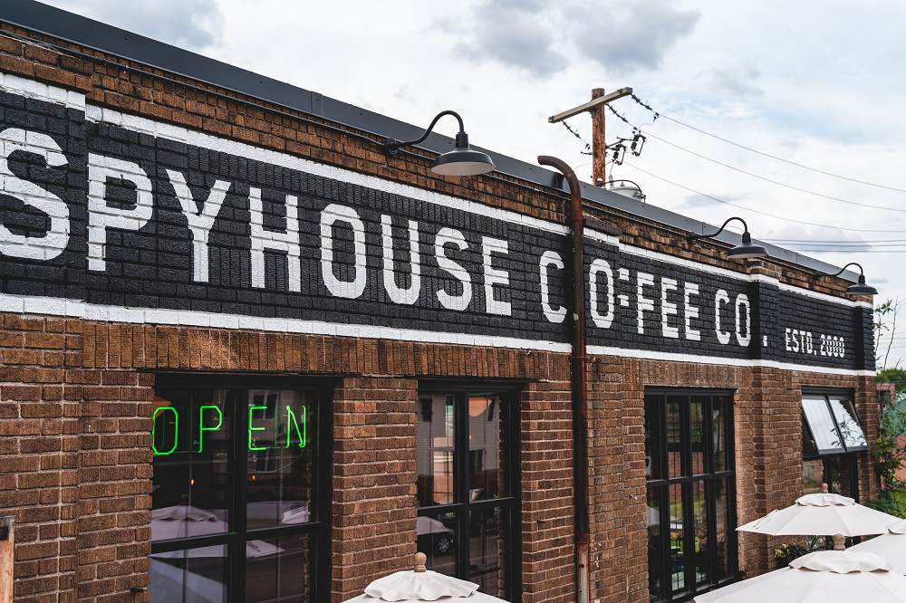 _ SPYHOUSE COFFEE    _ SIGN PAINTING    _ 2017