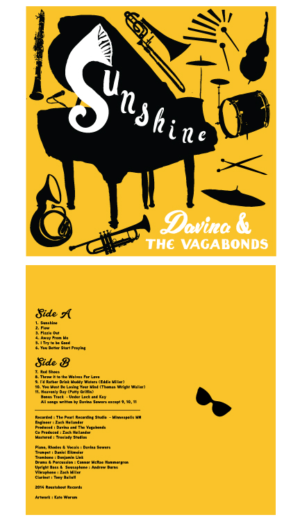 Album artwork for Davina & The Vagabons