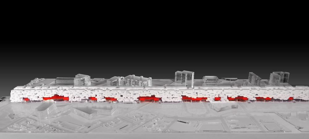Stamford Transit Hub - Massing Model Photo 01.jpg