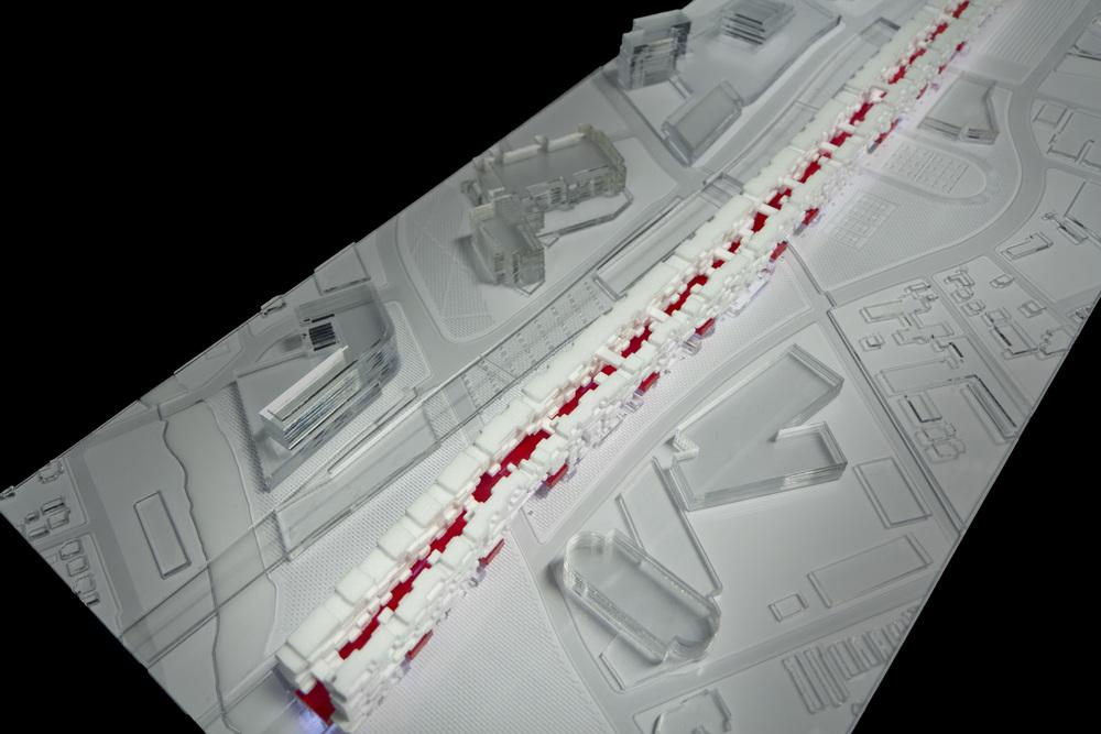 Stamford Transit Hub - Massing Model Photo 02.jpg