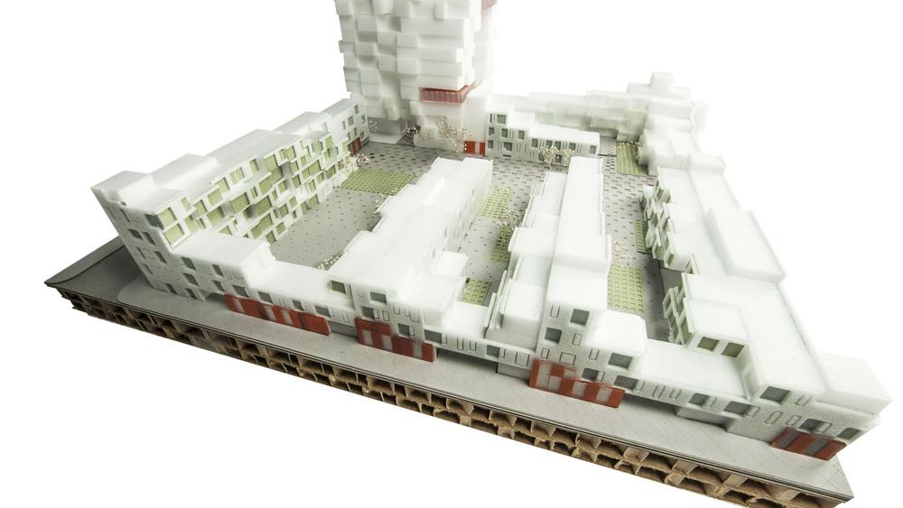 Beijing Olympic Park South Master Plan - Model Photo.jpg