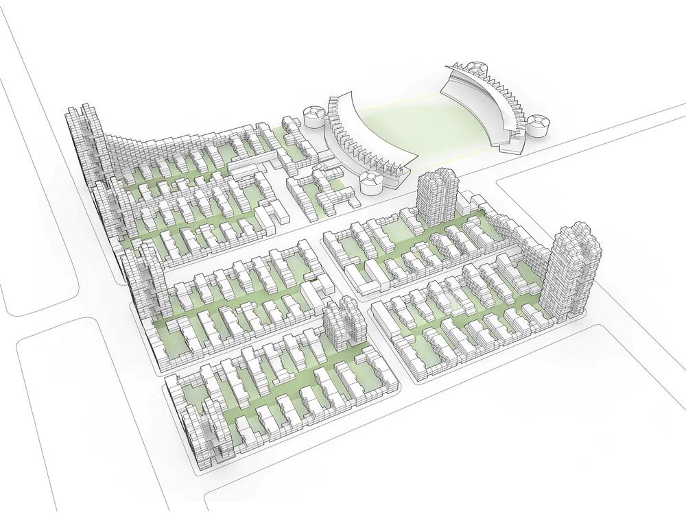 Beijing Olympic Park South Master Plan - Axon.jpg