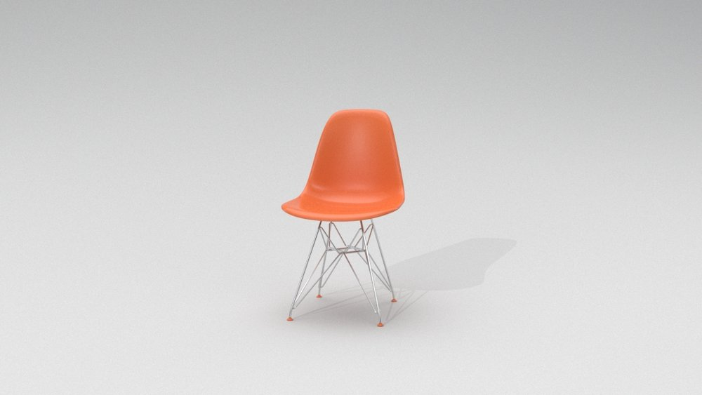 Eames Chair - Orange.jpg