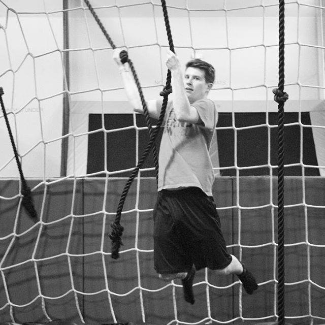 Ninja Course at #TZ #easiersaidthandone #trampolinezone