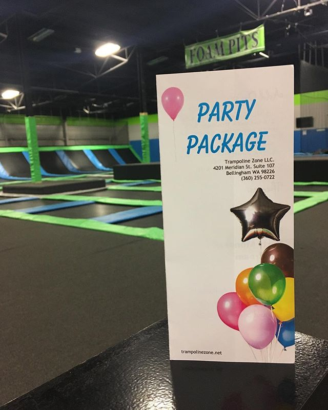 Temperatures are rising come have your birthday party at the coolest place in town!! Visit our website for our party details! Www.trampolinezone.net