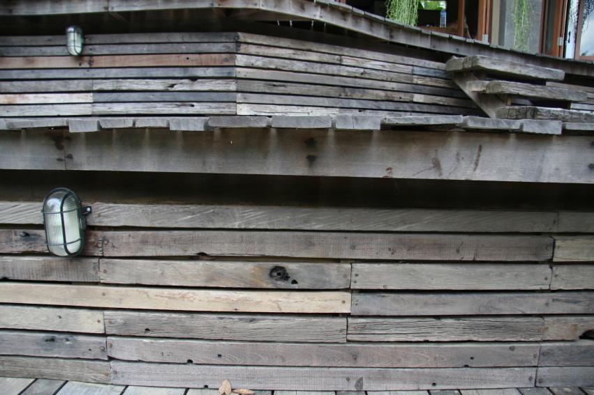 Cladding Raja Exterior Recycled Hardwood Ulin