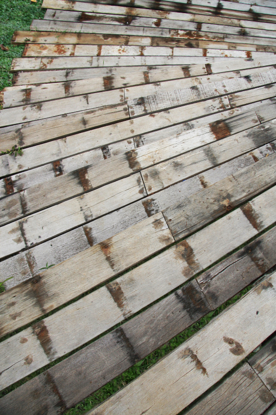 Reclaimed Exterior Wood Hardwood Ulin