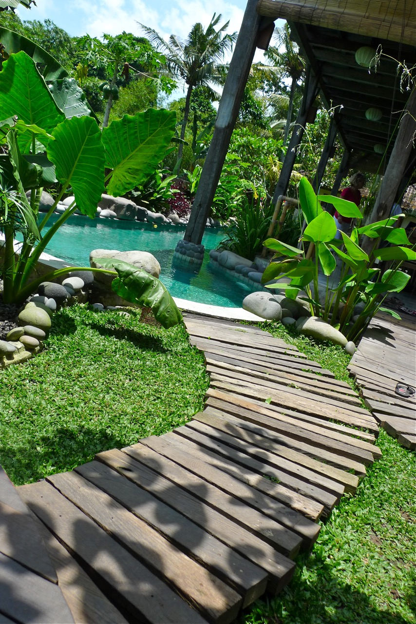 Swimming Pool Decking Kayu Besi Ironwood