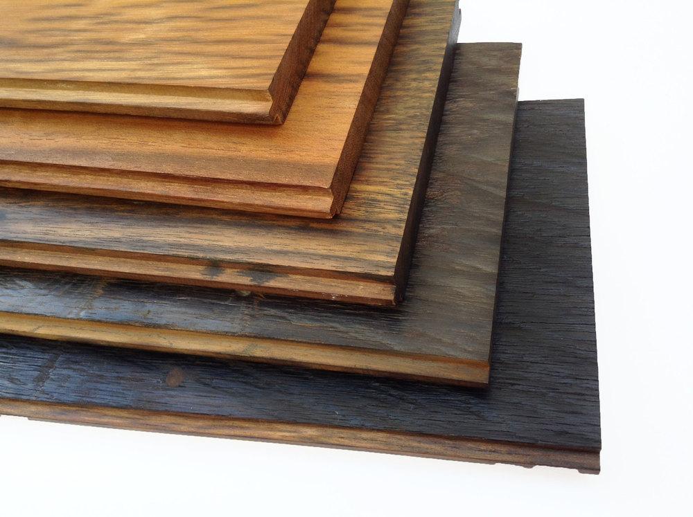 Kayu besi flooring
