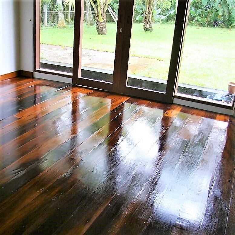 Reclaim hardwood flooring - Kaltimber project
