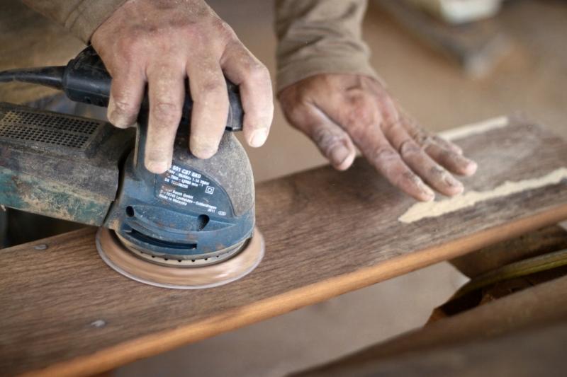 Processing reclaim hardwood - Kaltimber