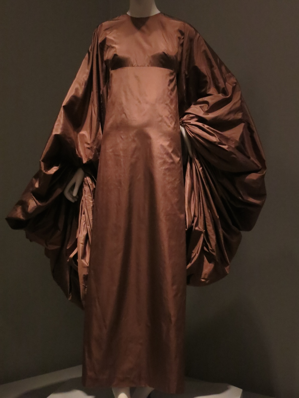 Madame Gres. The sleeves and bodice are all one piece.