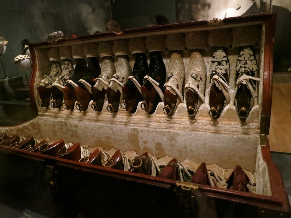 PietroYantorny shoes, 12 pairs incorporating the Rita Lydig's lace collection 1914. She had hundreds of pairs...These are day shoes.