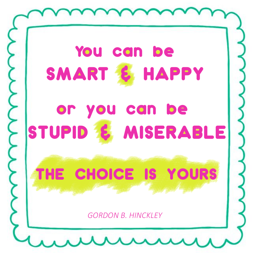 Happiness matters. // rebeccapetersonstudio.com //
