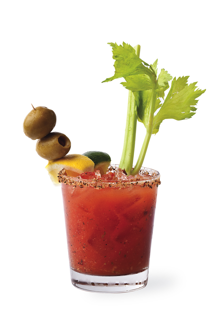 The cure a bloody mary to end all bloody marys the garbar - Cocktail bloody mary ...