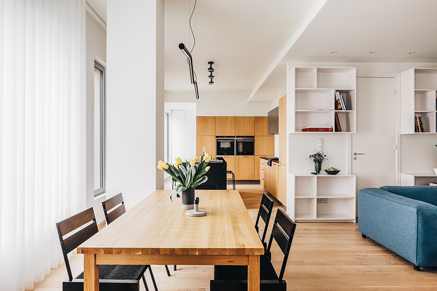 BOOMER - dining BANG 1 - kitchen  Image by  Märt Lillesiim  for  Art of Space