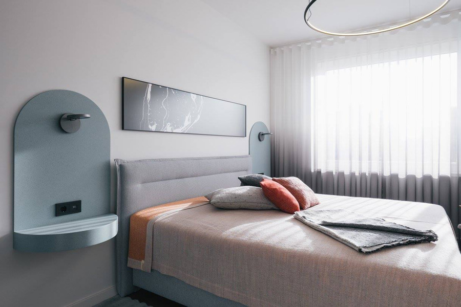 HOOLA - bedroom  Image by  Märt Lillesiim  for  Art of Space