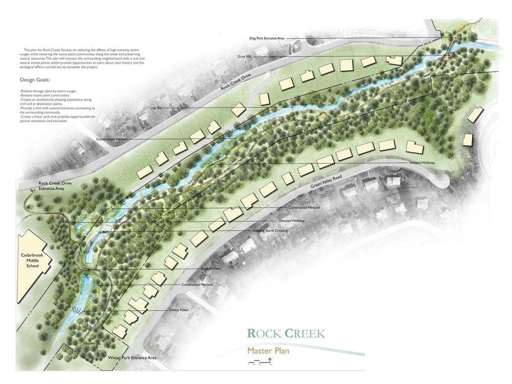 Rock Creek Park Masterplan