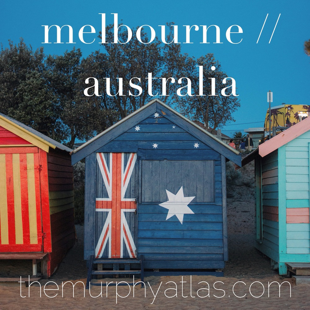 Melbourne Australia City Guide - The Murphy Atlas