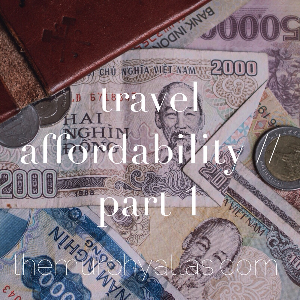 Great tips for saving & budgeting for travel // The Murphy Atlas